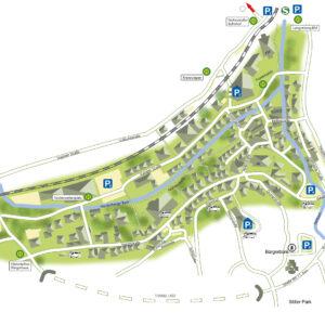 Altstadtplan Langenberg