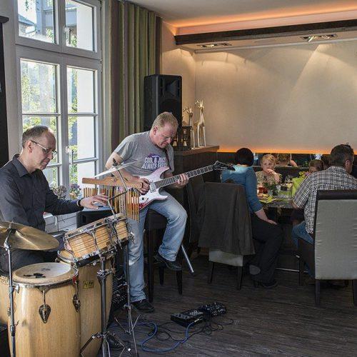Live-Konzert im Restaurant Hirsch
