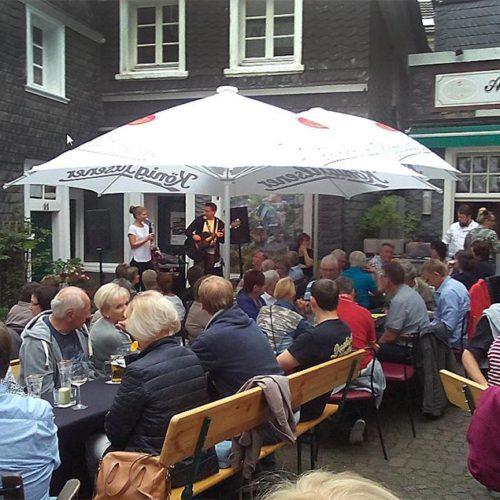 Live-Konzert beim Alt-Langenberg