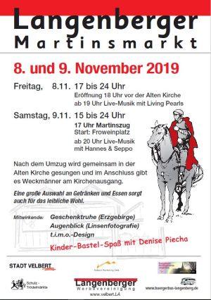 Plakat Martinsmarkt 2019